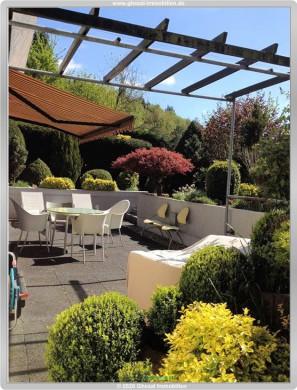 Hochwertige 3 Zimmer Terrassen Wohnung mit EBK,Gäste WC und Garage 65817 Eppstein, Terrassenwohnung