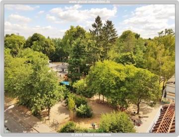 3 Zimmer Wohnung mit hochwertiger Einbauküche, Tiefgaragen Stellplatz für 1050,00 Euro kalt 63065 Offenbach, Dachgeschosswohnung