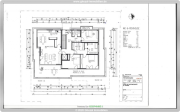 Hochwertige 4,5 Zimmer Penthouse-Wohnung mit Dachterrasse, Ankleidezimmer und Blick auf die Skyline, 65719 Hofheim, Penthousewohnung