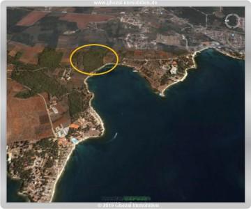 IDEAL für ein Hotelresort – Baugrundstück an der Adria, 52440 Porec, Gewerbe