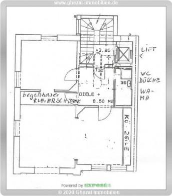 2-Zimmer-Wohnung am Kurpark, 61348 Bad Homburg, Etagenwohnung